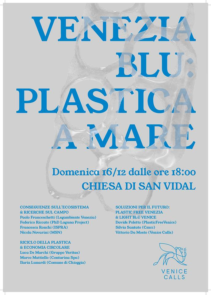 "LIFE-GHOST at ""Venezia blu: plastica a mare"" Conference"